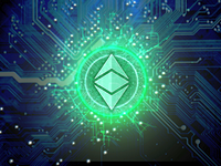 ethereum price is up almost 8