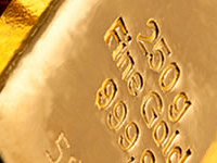 Gold dips 0'7% in early april
