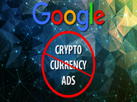 google crypto currency ad ban