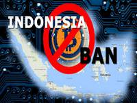 Indonesia blocks cryptocurrencies