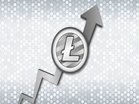 Litecoin grew 100% in the first quarter