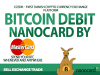 Ccedk issues bitcoin debit card