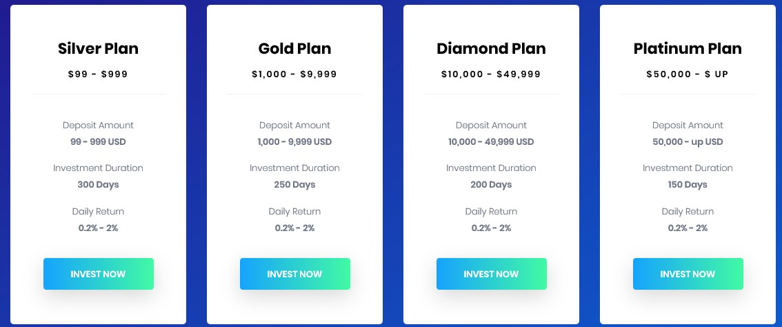 XatraInvest investment plans